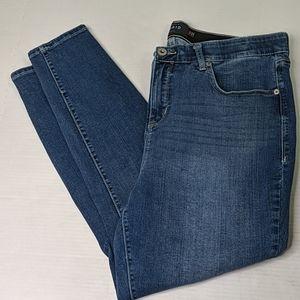 Torrid premium denim sky high skinny jeans